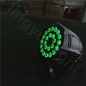 Stage DJ PAR 64 LED 24 18W RGBW UV pictures & photos