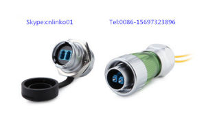 Optic Fiber Signal Connector with 24mm Screw Type Locking pictures & photos