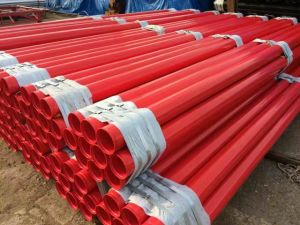 Popular Design Latest Technology Paint Coating Steel Pipe / Tube pictures & photos