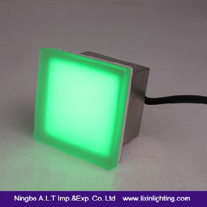 100*100*RGB Glass LED Tile Brick Floor Light with Ce/RoHS/EMC Approval pictures & photos