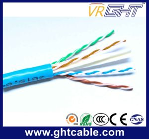 Indoor UTP Cat6e Cable for Communicating Using pictures & photos