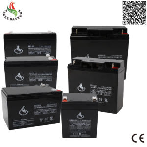 12V 17ah Maintenance Free Lead Acid Battery with AGM Technology pictures & photos