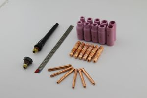 Kingq Wp-22p Water Cooled TIG Torch Parts with Ce for Welding Torch pictures & photos