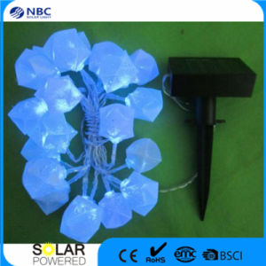 Plastic Material Poly-Silicon Solar Panel String Lighting pictures & photos