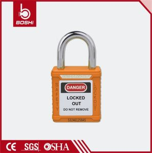 25mm Length Ultra Short Steel Shackle Safety Padlock (BD-G51) pictures & photos