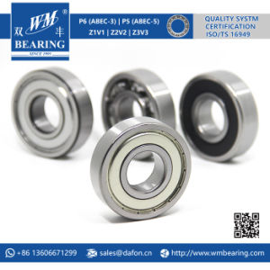 6306 Zz 2RS High Speed Spindle Radial Ball Bearing pictures & photos