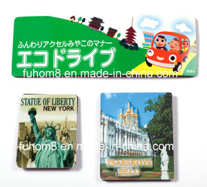 Customized Printed Laminated Paper Fridge Magnet pictures & photos
