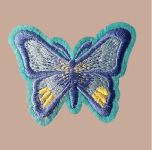 Hot Selling Ski Embroidery Patch Woven Patches pictures & photos