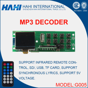 Audio Board Receiver Bluetooth Module Chip for USB Decoder-G005 pictures & photos