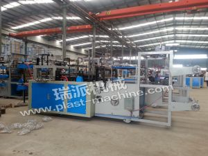 Two Lines Garbage Bag Rolling Machine pictures & photos