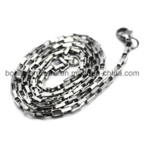 Stainless Steel Long Box Chain pictures & photos