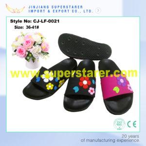 Women EVA Custom Logo Slippers, Cheap Indoor Women Slipper pictures & photos