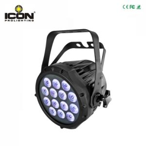 Cheap 14X3w 3in1 Waterproof Round RGBW LED PAR Light pictures & photos