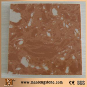 Rosa Tea Artificial Stone Man Made Marble Slab pictures & photos