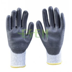 Gary Nitrile Coated Working Glove Safety Glove with Ce (D78-G5) pictures & photos