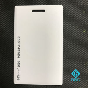RFID Card Em4305 Chip Suspensibility Thick ID Card pictures & photos