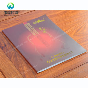 Soft Cover Paper Printing Book/Catalog for Musical Accessories pictures & photos