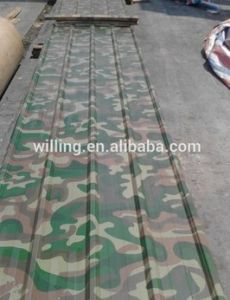 Hangzhou Camouflage Color Painting Aluminum Plate pictures & photos