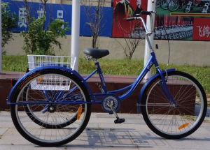 26inch Shopping Tricycle Cargo Trike (FP-TRCY037) pictures & photos