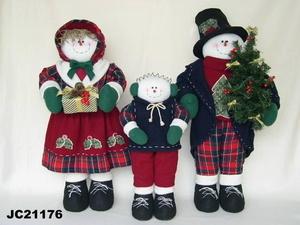 Christmas Snowman Family (JC21176)