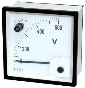 96 Moving Iron Voltmeter With Change Over Switch for AC Voltmeter pictures & photos