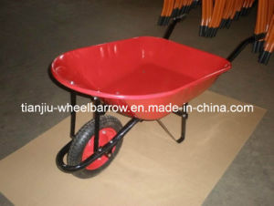 Metal Wheelbarrow Good Quality for South America Market (WB7200) pictures & photos