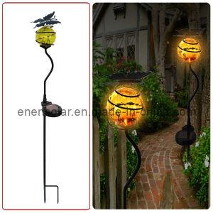 Solar Metal-Crafted Garden Light (HL009-3)