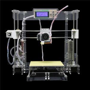Transparent/Black Desktop DIY 3D Printer High Precision Fdm 3D Printer pictures & photos