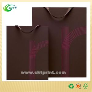 Make Large Package Paper Bags Printing (CKT-PB-373) pictures & photos