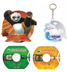 Shape CD/DVD Replication