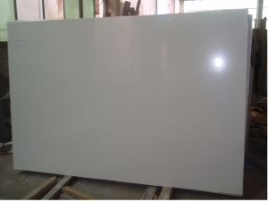 Artificial Stone - Pure White Marble Slab/Tile pictures & photos
