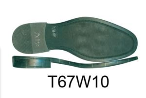 Good Quality Men′s TPR Sole Outsole for Men′s Leather Shoe (T67W10) pictures & photos