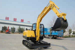 Mini Bucket Excavator for Sale (HT65-8) pictures & photos