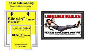 18 X 24 Poster Snap Frame for Wall, Snap Open, 25mm Profile - Black pictures & photos
