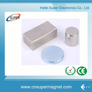 Hottest Sale N38 Customized Neodymium Block Magnet pictures & photos