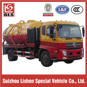 4*2 Dongfeng 5000L Sewage Suction Truck with Cleaning Function pictures & photos