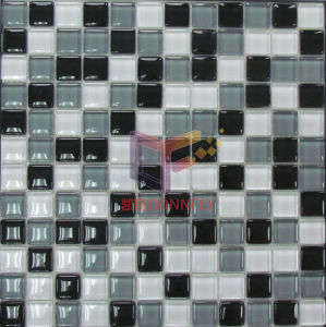 Grey White and Black Mixed Glass Mosaics (CFC107) pictures & photos