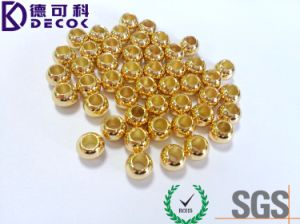China Bead Manufacturers Gold / Rose Gold / Silver Plated 2mm 2.5mm 3mm 4mm 5mm...10mm Jewelry Stainless Gold Bead pictures & photos