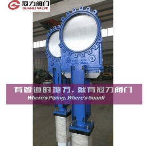 Wafer Connection Bi-Directional Knife Gate Valve pictures & photos