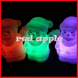 Colorful Christmas Night Light, Mini LED Christmas Night Light