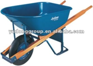 Wooden Handle Wheelbarrow Wh7801, Big Capacity Wheelbarrow pictures & photos