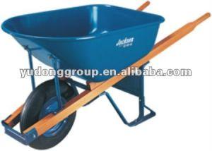 Wooden Handle Wheelbarrow Wh7801, Big Capacity Wheelbarrow pictures & photos