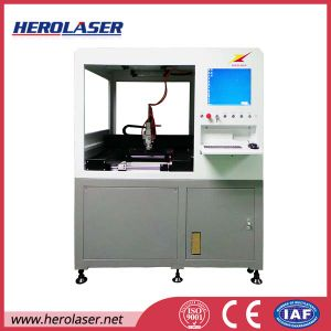 Super High Precison Stainless Steel Sheet Aluminum Foil Fiber Laser Cutting Drilling Machine pictures & photos