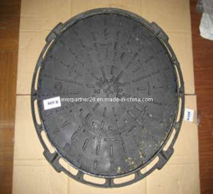 Round Ductile Iron Manhole Cover Frame with SGS Certificate pictures & photos