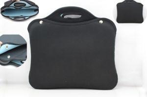 2015 High Quality Classic Black Men Shockproof Computer Bag with Handles for Medical Document pictures & photos