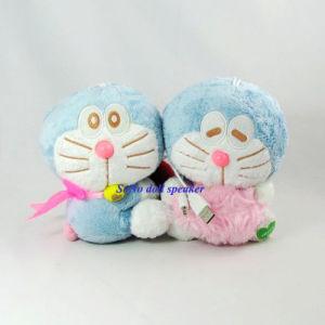 USB 2.0 Doll Speaker - Hold Heart Doraemon (DX-008)