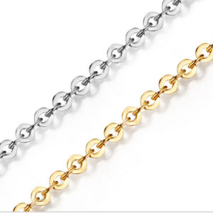 Fashion Italy Made Jewelry 925 Sterling Silver Rolo Chain
