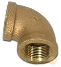 Brass Elbow Forging Fitting (KX-BF004) pictures & photos