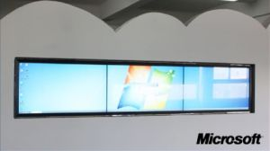 "100"" LCD Interactive Video Wall - 10 Touch Points"