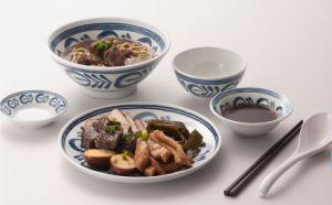 Melamine Modern Blue Style Tableware/Melamine Plate/Melamine Dinnerware (DC4116) pictures & photos